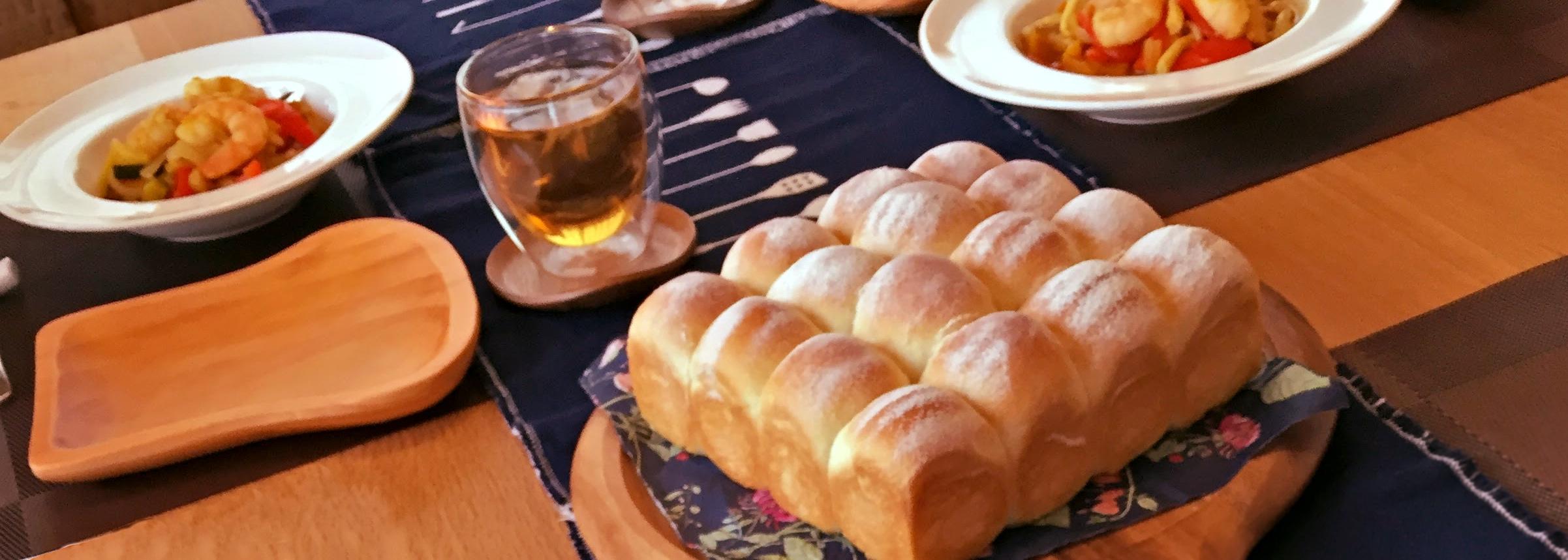 長岡市 手づくりパン教室 ぽわん